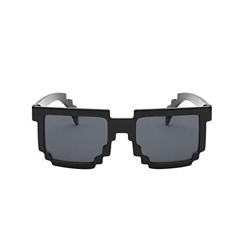 Chalkalon Gafas de Sol de 1 Pieza de píxeles