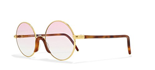 Gianfranco Ferre GFF 2 405 Black, Silver Vintage Sunglasses Round For Men and Women