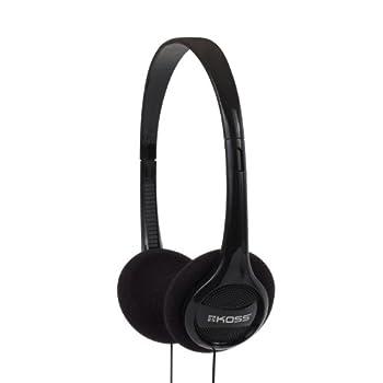 Koss KPH7 Lightweight Portable Headphone Black