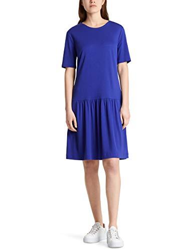 Marc Cain Collections Dress Vestito, Viola (Blue Violet 751), 40 (Taglia Produttore: 1) Donna