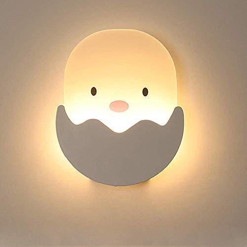 XXLYY Poussin Appliques Murales LED Intérieur Poulet Lampe pour Enfants Chambre à Coucher Applique Murale Enfants Veilleuse dans Éclairage Applique Lumière pour Chambre d'enfant Chambre Enfant Chevet,