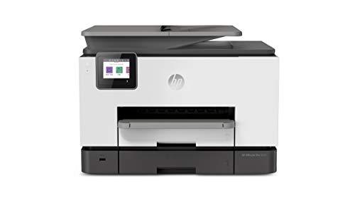 HP OfficeJet Pro 9020 (1MR78B) Stampante Multifunzione a Getto di Inchiostro, Stampa, Scansiona, Fotocopia, Fax, Wifi, A4, HP Smart, Smart Tasks, 6 Mesi di Instant Ink Inclusi nel Prezzo, Nero