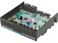 Dawicontrol DC-7515 RAID 5-Port SATA II RAID 1/0/10/3/5/JBOD/Clone Storage Module Treiberlose Installation LED Status Anzeige