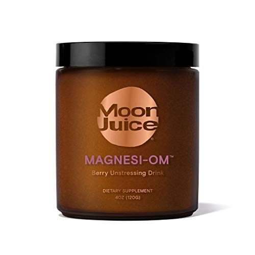 Moon Juice - Magnesi-Om - Magnesium Powder Supplement for Relaxation & Sleep - 310mg Chelated Magnesium (Gluconate, Acetyl Taurinate & Citrate) & 112mg L-Theanine - Vegan, Sugar-Free (30 Servings)