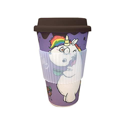 Pummeleinhorn Bambus Mug - Tag loben (380 ml)