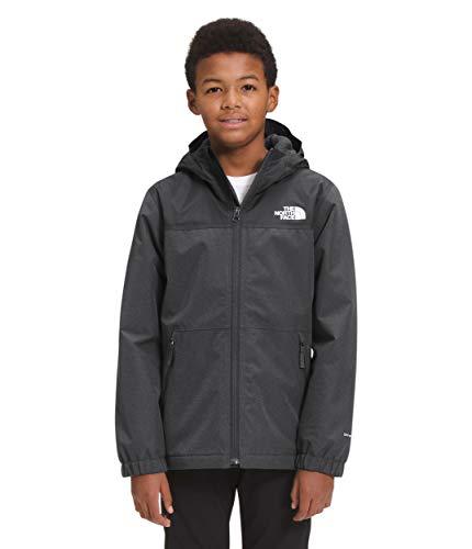The North Face Boys' Warm Storm Rain Jacket, Asphalt Grey Heather, M