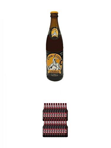 Odin Trunk Honigbier 0,5 Liter Deutschland + Lausitzer KIRSCH Porter Kirschbier 20 x 0,5 Liter Deutschland
