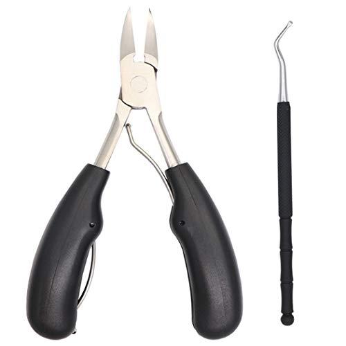 Fascigirl Ingegroeide Nagelknipper Dode Huid Knippen Groot Handvat Roestvrij Teen Nageltang Met Nail Lifter ExfoliÃ…
