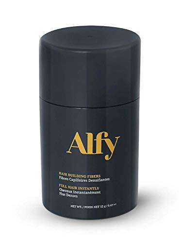 Alfy Hair Building Fibers for Thinning Hair, Dark Brown, 12g