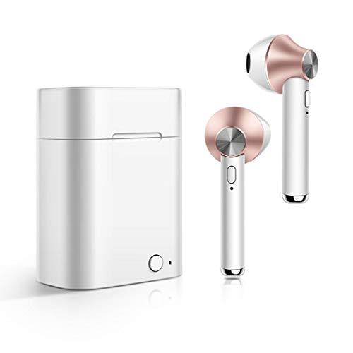 AIMADO Auricolari Auricolari per Cuffie Wireless Bluetooth con Scatola di Ricarica Cuffie Bluetooth