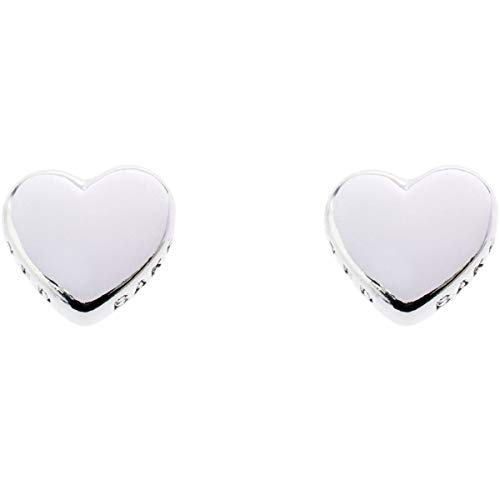Ted Baker Harly Tiny Heart Stud Silver Earring
