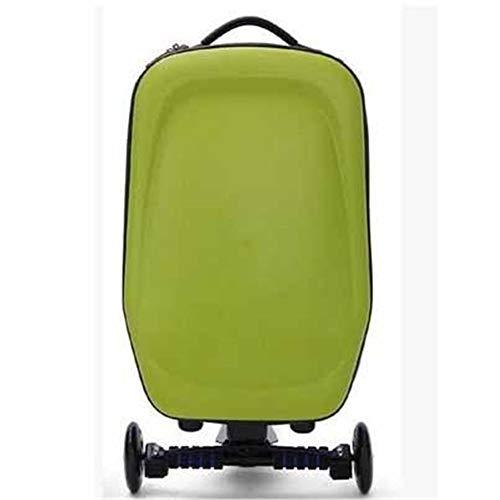 21 inch Scooter koffer Ride-on Travel Trolley Bagage voor Reizen, School en Zakelijke Scooter koffer voor Airport Travel Business School