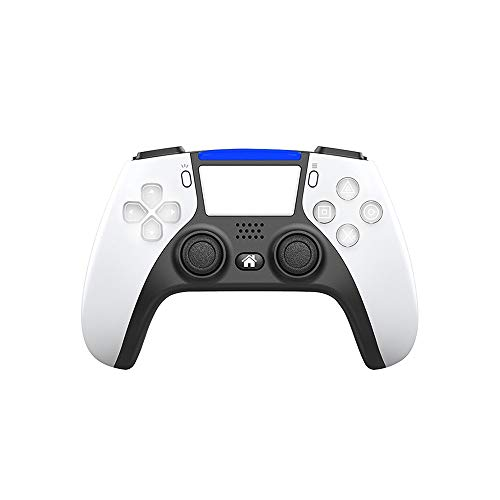 ZZYJYALG Gamepad Plastic Supports Bluetooth Wireless Controller Button Programable Gamepads 4 Pro Slim PC Juego Joystick Switch Host Android Game Game Handle Mobile TV Caja Computadoras PS2 (Negro)