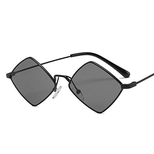 ShZyywrl Gafas De Sol De Moda Unisex Chic Small Vintage Sunglasss Mujeres Hombres Aleación Espejo Gafas De Sol Hombres Tonos Irregulares Oculos Feminino 1