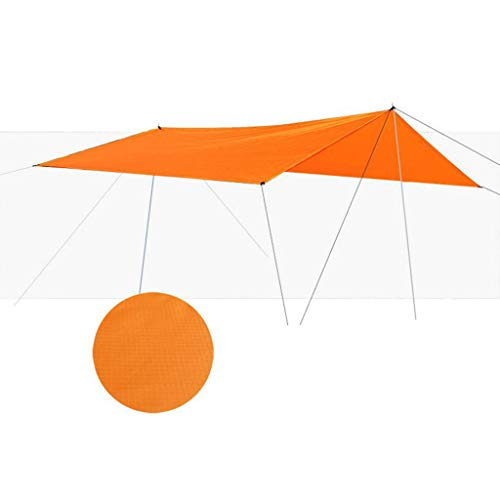 URSING Sun Shade Sail Waterproof Outdoor Garden Patio Party Sunscreen Awing Garden Canopy 98% UV Block with Free Rope 300X295CM