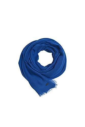 ESPRIT edc by Accessoires Damen 010CA1Q303 Schal, Blau (Dark Blue 405), One Size (Herstellergröße: 1SIZE)