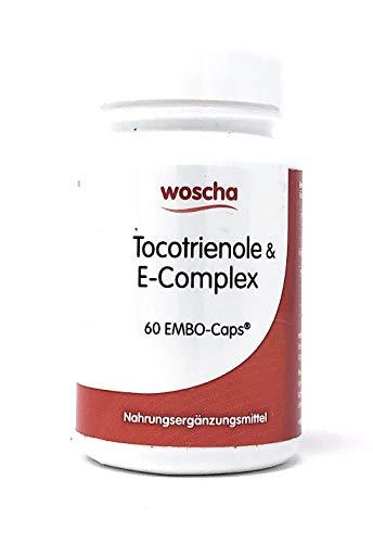 Woscha Tocotrienole Vitamin E-Complex, 60 K-Caps