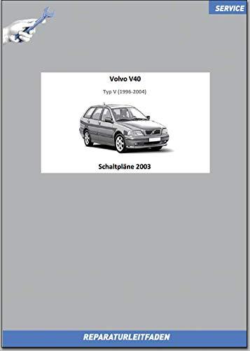 Volvo V40 (2003) Werkstatthandbuch Schaltpläne (gedrucktes Buch)