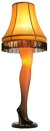 A Christmas Story House - A Christmas Story Full Size 45' Leg Lamp, Cream