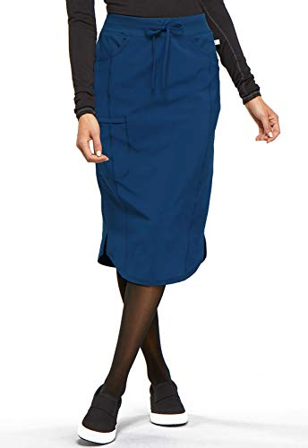 CHEROKEE Infinity 30' Drawstring Skirt, CK505A, L, Navy