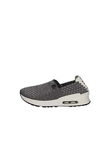 Pierre Cardin Damen Casual Slip, Dark Grey Sneakers Ginnastica Woman, Dunkelgrau - Größe: 35 EU