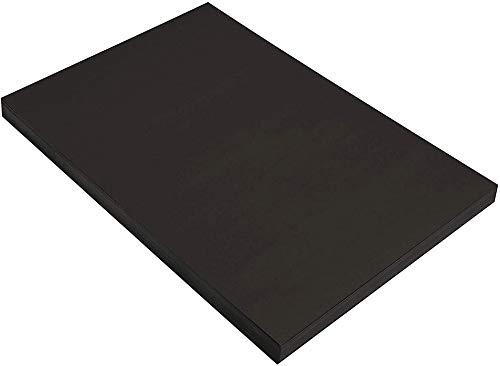 Panngu 50 Blätter Bastelkarton schwarz, 230 g/m², DIN A4, Qualität Vintage Craft Card für DIY I Zum Selbstgestalten Basteln Malen Beschreiben Scrapbook-ing, Tonpapier