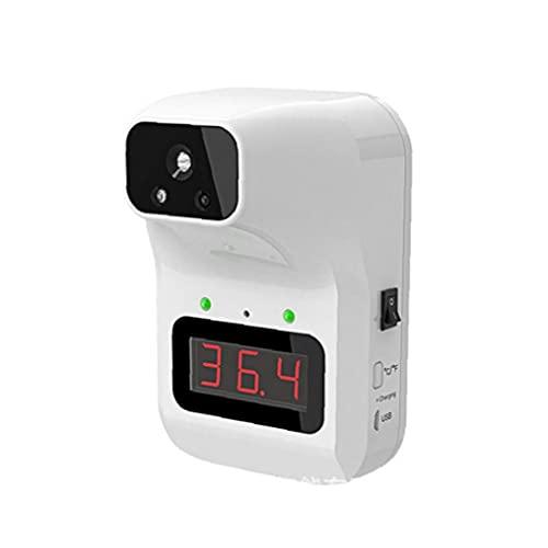 Automático Tester Digital Wall Mounted frente Fiebre Termometer para adultos bebé niños Blanco, Tester