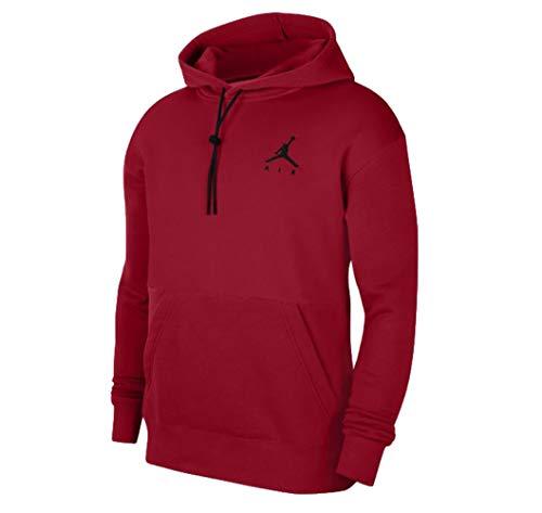 Nike Jordan Sudadera de hombre con capucha Jumpman Air Roja, cód. CK6684-687 rojo S