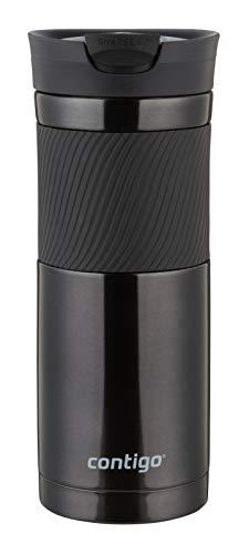 Contigo Thermobecher Byron Snapseal, Edelstahl Isolierbecher, Kaffebecher to go, auslaufsicher, spülmaschinenfester Deckel BPA-frei, 590 ml