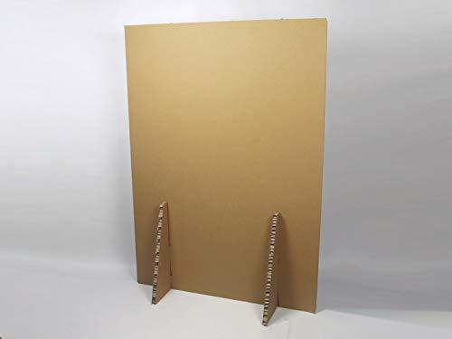EliAcoustic Biombo de separación de Espacios para protección. Ajustable a Medida. Reciclable. Medidas 1400 mm de Alto x 1000 mm de Ancho.