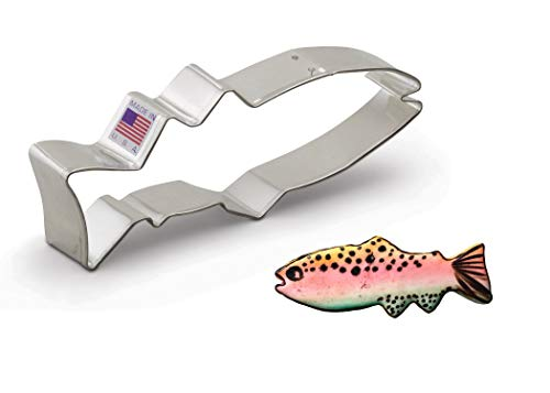 Ann Clark Cookie Cutters Fish Cookie Cutter, 5'