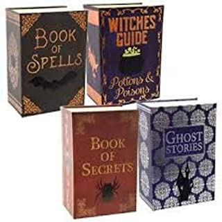 Halloween Book Shaped Gift Boxes Decor Decoration Nesting