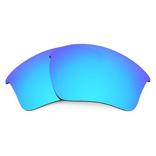 Revant Revant Ersatzgläser für Oakley Half Jacket 2.0 XL - Kompatibel mit für Oakley Half Jacket 2.0 XL, Nichtpolarisiert, Eisblau MirrorShield