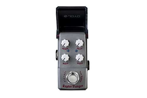 JOYO JF-327 Raptor Flange Guitar Effects Pedal Ironman mini series