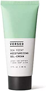 Versed Dew Point Moisturizing Gel Cream 2 Fl. Oz! Face Moisturizer With Calming Green Tea & Hydrating Aloe Vera! Cruelty Free, Paraben Free and Vegan! Choose Your Facial Treatment! (Face Moisturizers)