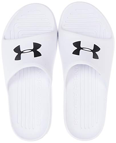 Sandalias CORE PTH SL para Natacion para Unisex Under Armour 3021286-100, 25 MX / 7 US, Blanco