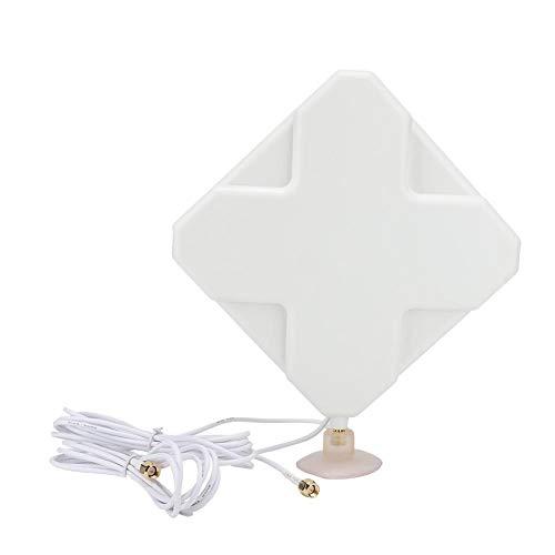 Wendry SMA-antenne, breedbandantenne, versterker signaalversterker met SMA-interface 35dBi High Gain Antenna Booster, sterk en duurzaam