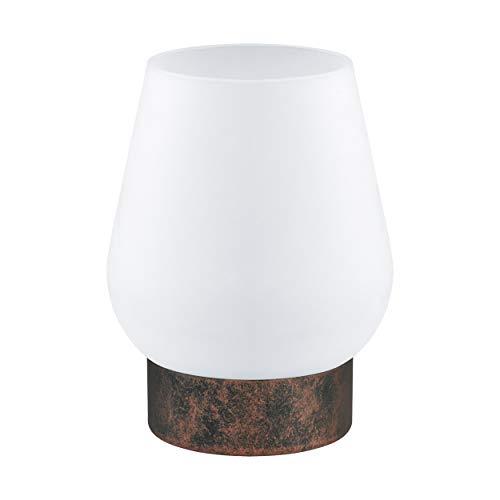 EGLO DAMASCO 1 tafellamp, staal, 60 W, koperkleurig antiek