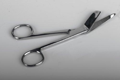 Medline MDS10485H Lister Bandage Scissors, 7.25'
