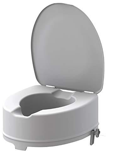Rialzo WC di 15 cm con staffe e coperchio