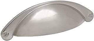 10 Pack - Cosmas 4198SN Satin Nickel Cabinet Hardware Bin Cup Drawer Handle Pull - 2-1/2
