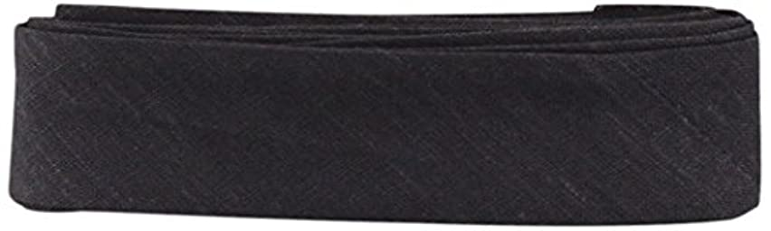 Inastri Cotton Bias Binding 25/5/5mm Colour Charcoal 77 – 3m, 100%, 13 x 11 x 2 cm