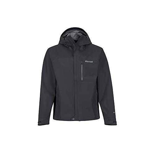 Marmot Minimalist Jacket Veste de pluie Hardshell, Imperméable, coupe-vent, imperméable à l'eau, Respirante Homme Black FR: L (Taille Fabricant: L)