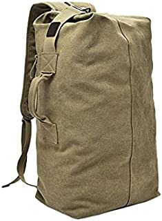 Fyuanmeiiqxbbb hydration backpack Fashion Travel Backpack Men's Backpack Outside Travel Sports Bag Trend Canvas Backpack (...