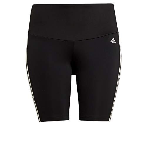 adidas W 3s Inc SH TIG Leggings, Black/White, 3XL para Mujer