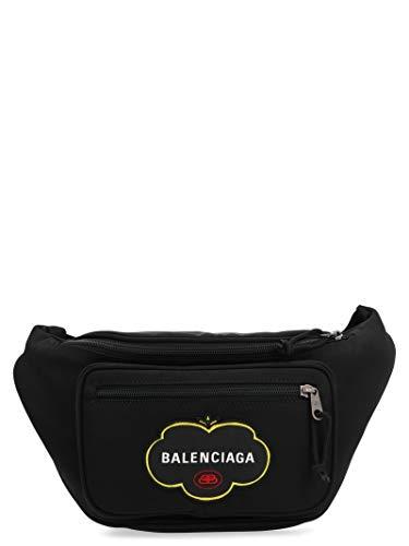 Luxury Fashion | Balenciaga Heren 4823899WBF51000 Zwart Nylon Heuptas | Lente-zomer 20