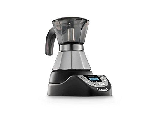 DeLonghi EMKP 21.B Cafetera moka eléctrica, 450 W, cronómetro, 2 tazas,