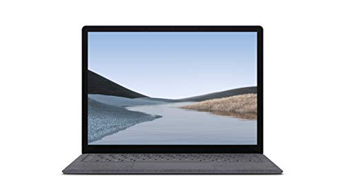 "Microsoft Surface Laptop 3 - Ordenador portátil de 13.5"" táctil (Intel Core i5-1035G7, 8GB RAM, 128GB SSD, Intel Graphics, Windows 10) Plata - Teclado QWERTY Español"