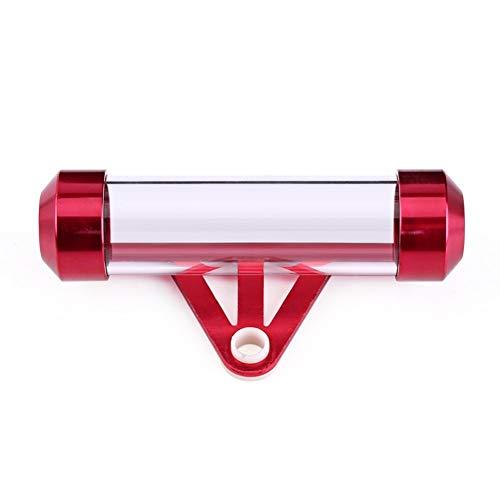 DaJiKan Moto Secure Tax Disc Tube Titolare cilindrico Telaio Impermeabile Titolare Titolare Telaio TEVOLE TEVOLE Accessori Universale DaJiKan (Color : Red)