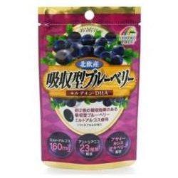 【ユニマットリケン】吸収型ブルーベリー 31粒 ×3個セット